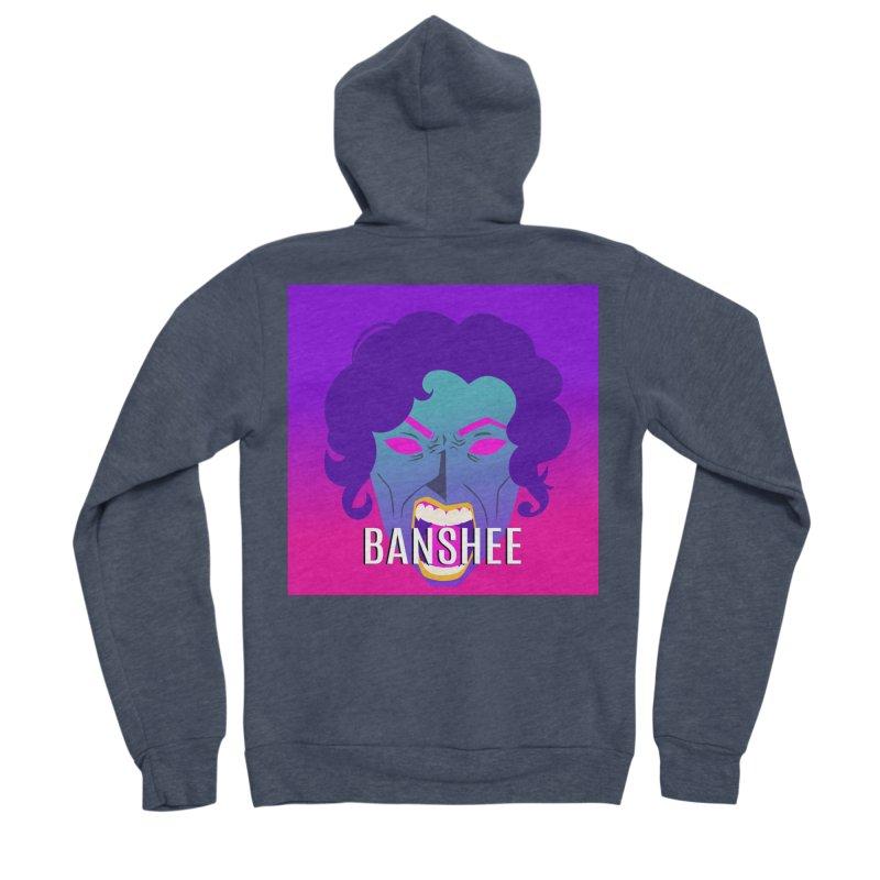 Banshee Men's Sponge Fleece Zip-Up Hoody by ganymedesgirlscommunity's Artist Shop