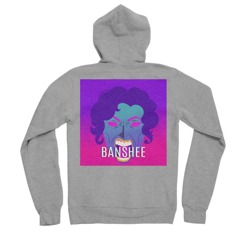 Banshee Women's Sponge Fleece Zip-Up Hoody by ganymedesgirlscommunity's Artist Shop