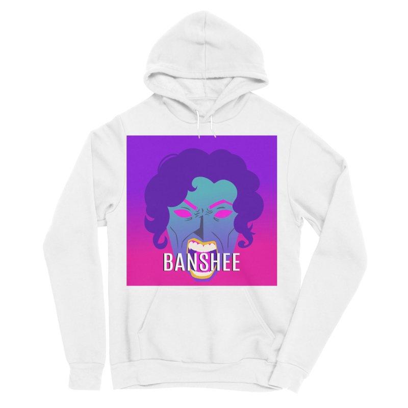Banshee Men's Sponge Fleece Pullover Hoody by ganymedesgirlscommunity's Artist Shop