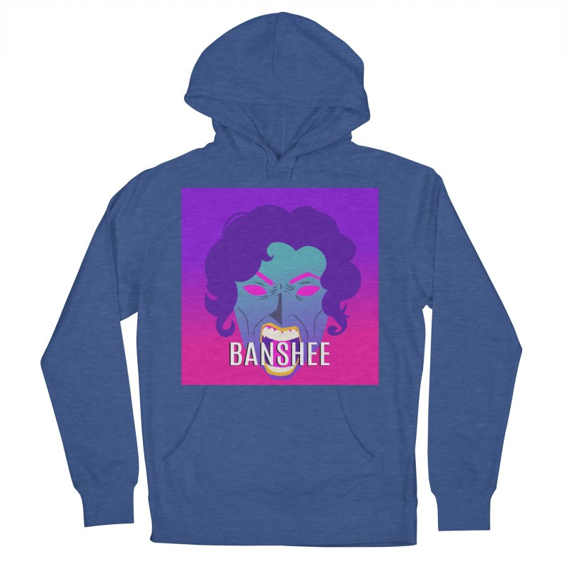 Banshee Women's French Terry Pullover Hoody by ganymedesgirlscommunity's Artist Shop