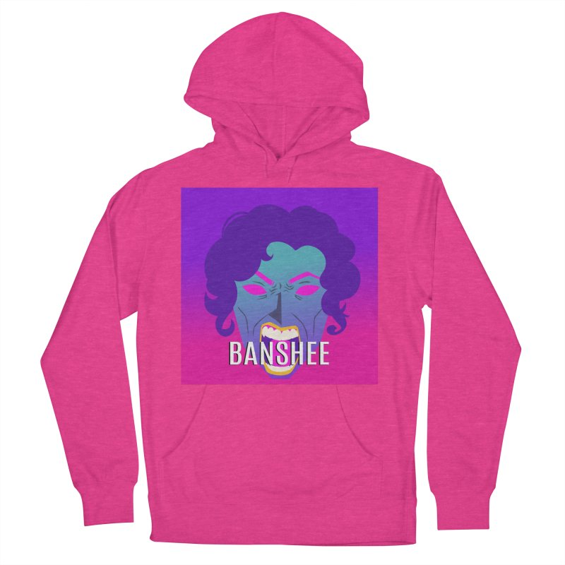 Banshee Women's French Terry Pullover Hoody by ganymedesgirlscommunity's Artist Shop