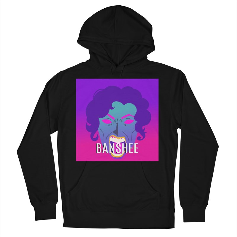 Banshee Men's French Terry Pullover Hoody by ganymedesgirlscommunity's Artist Shop