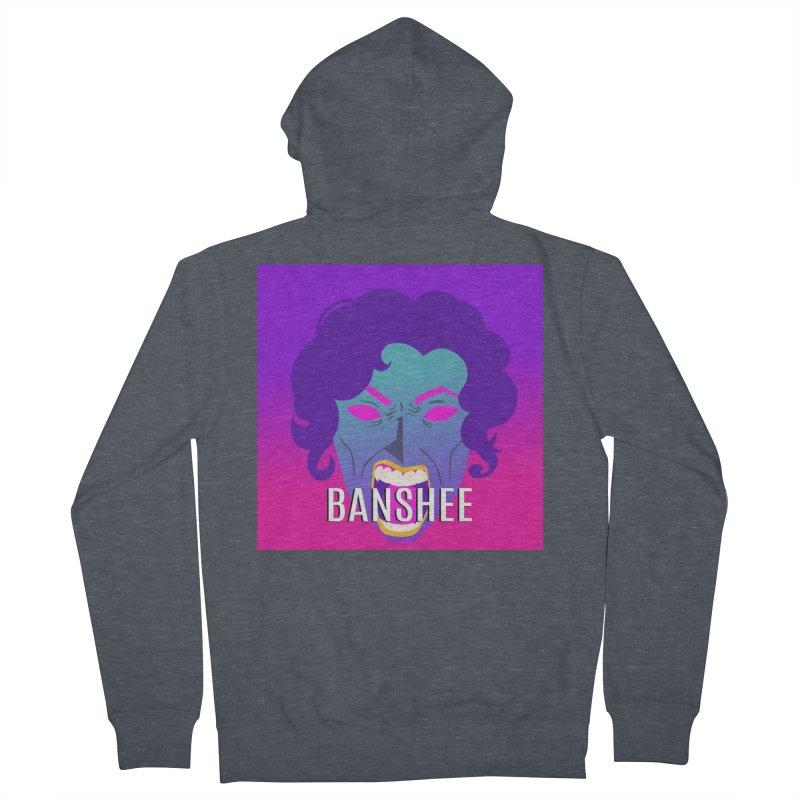 Banshee Women's French Terry Zip-Up Hoody by ganymedesgirlscommunity's Artist Shop