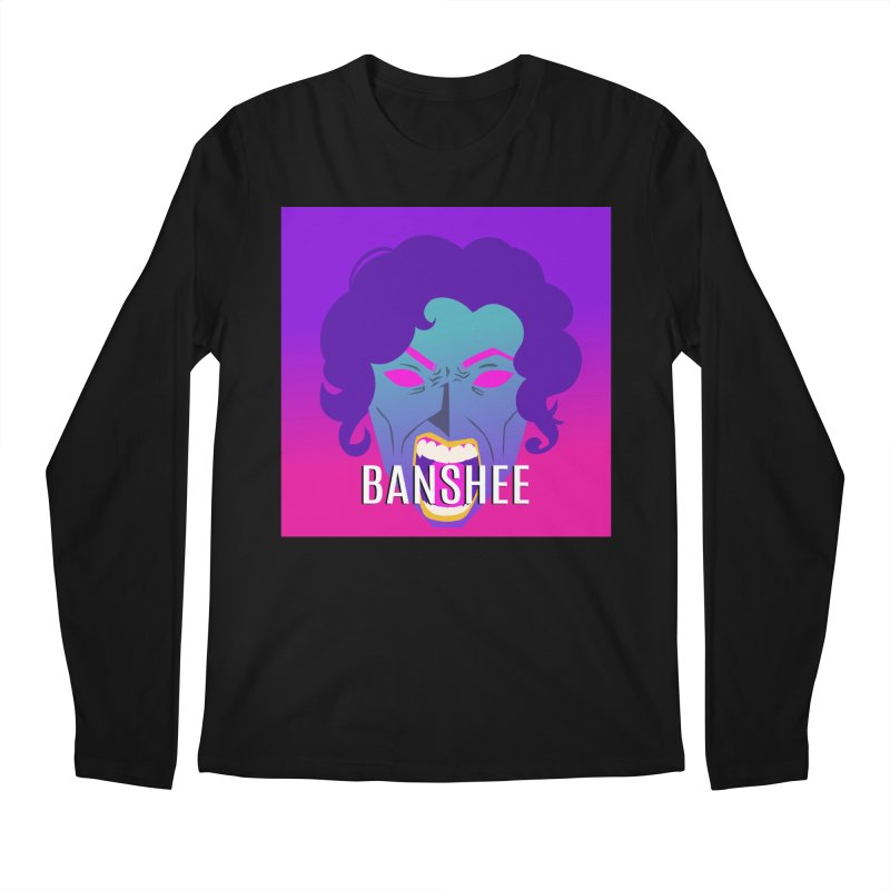 Banshee Men's Regular Longsleeve T-Shirt by ganymedesgirlscommunity's Artist Shop
