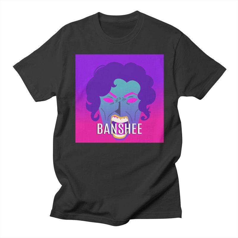 Banshee Men's Regular T-Shirt by ganymedesgirlscommunity's Artist Shop