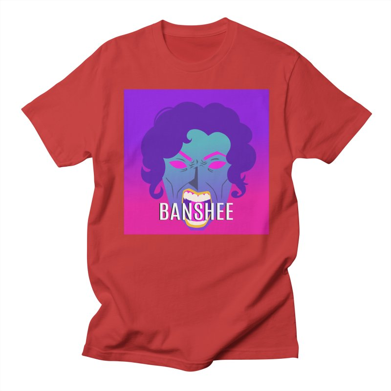 Banshee Women's Regular Unisex T-Shirt by ganymedesgirlscommunity's Artist Shop