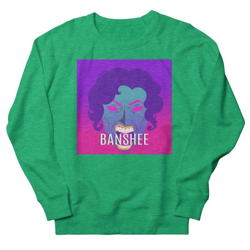 Banshee Men's French Terry Sweatshirt by ganymedesgirlscommunity's Artist Shop