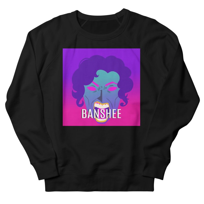 Banshee Men's French Terry Sweatshirt by ganymedesgirlscommunity's Artist Shop