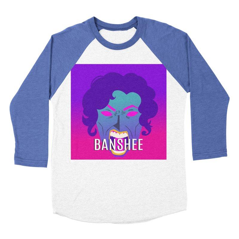 Banshee Women's Baseball Triblend Longsleeve T-Shirt by ganymedesgirlscommunity's Artist Shop