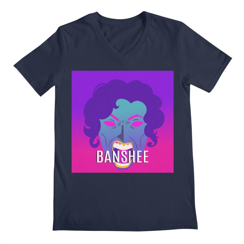 Banshee Men's Regular V-Neck by ganymedesgirlscommunity's Artist Shop