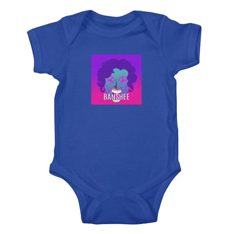 Banshee Kids Baby Bodysuit by ganymedesgirlscommunity's Artist Shop