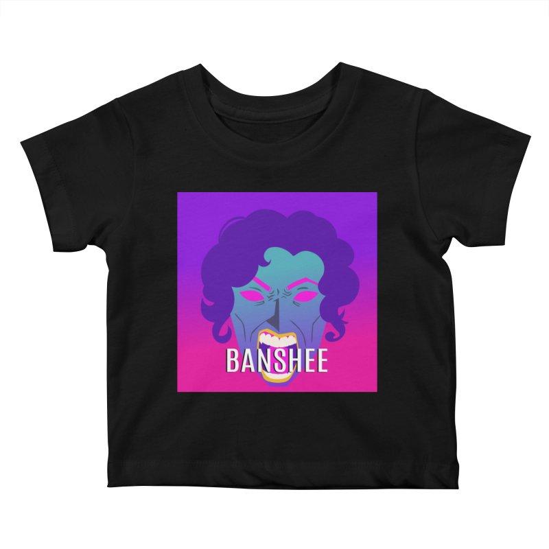 Banshee Kids Baby T-Shirt by ganymedesgirlscommunity's Artist Shop