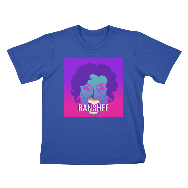 Banshee Kids T-Shirt by ganymedesgirlscommunity's Artist Shop
