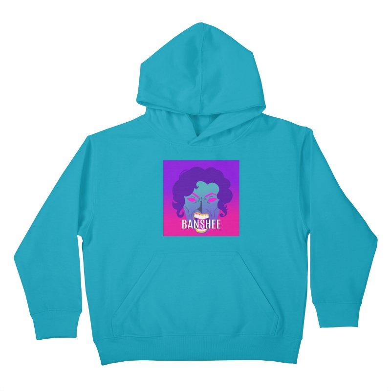Banshee Kids Pullover Hoody by ganymedesgirlscommunity's Artist Shop