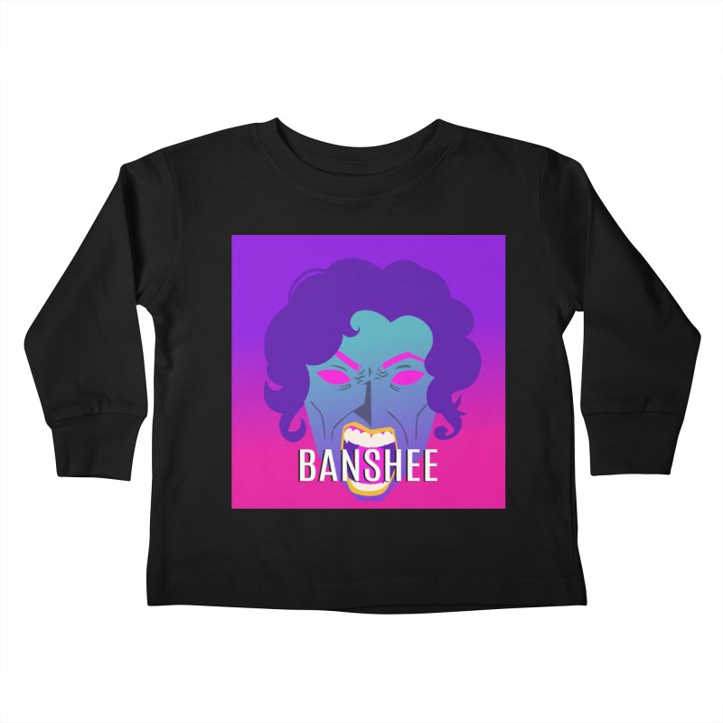 Banshee Kids Toddler Longsleeve T-Shirt by ganymedesgirlscommunity's Artist Shop