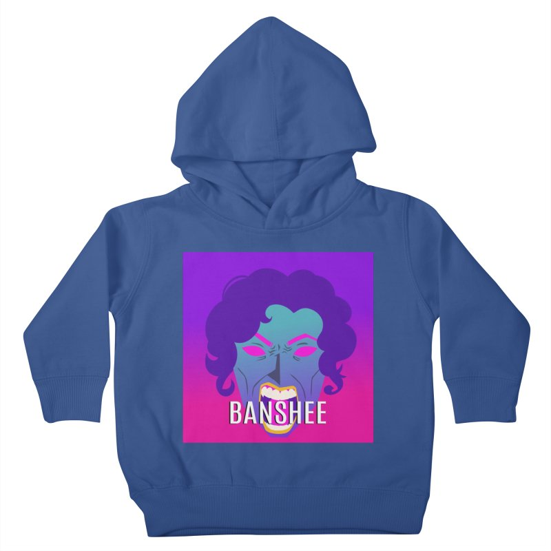 Banshee Kids Toddler Pullover Hoody by ganymedesgirlscommunity's Artist Shop