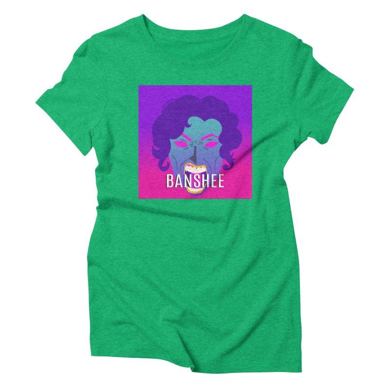 Banshee Women's Triblend T-Shirt by ganymedesgirlscommunity's Artist Shop
