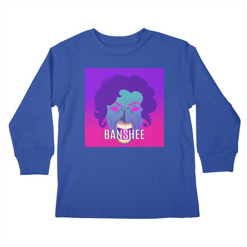 Banshee Kids Longsleeve T-Shirt by ganymedesgirlscommunity's Artist Shop