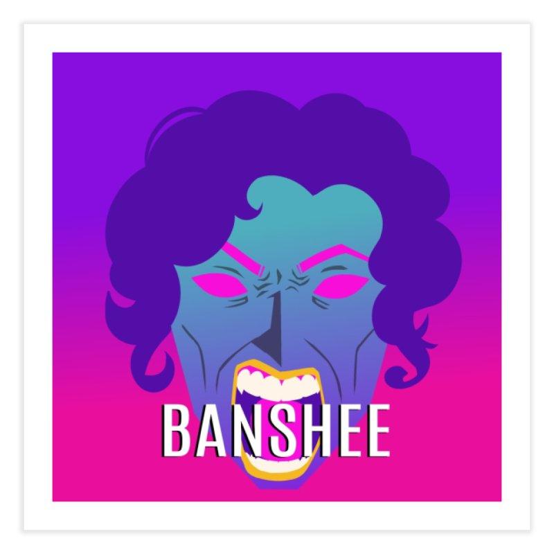 Banshee Home Fine Art Print by ganymedesgirlscommunity's Artist Shop