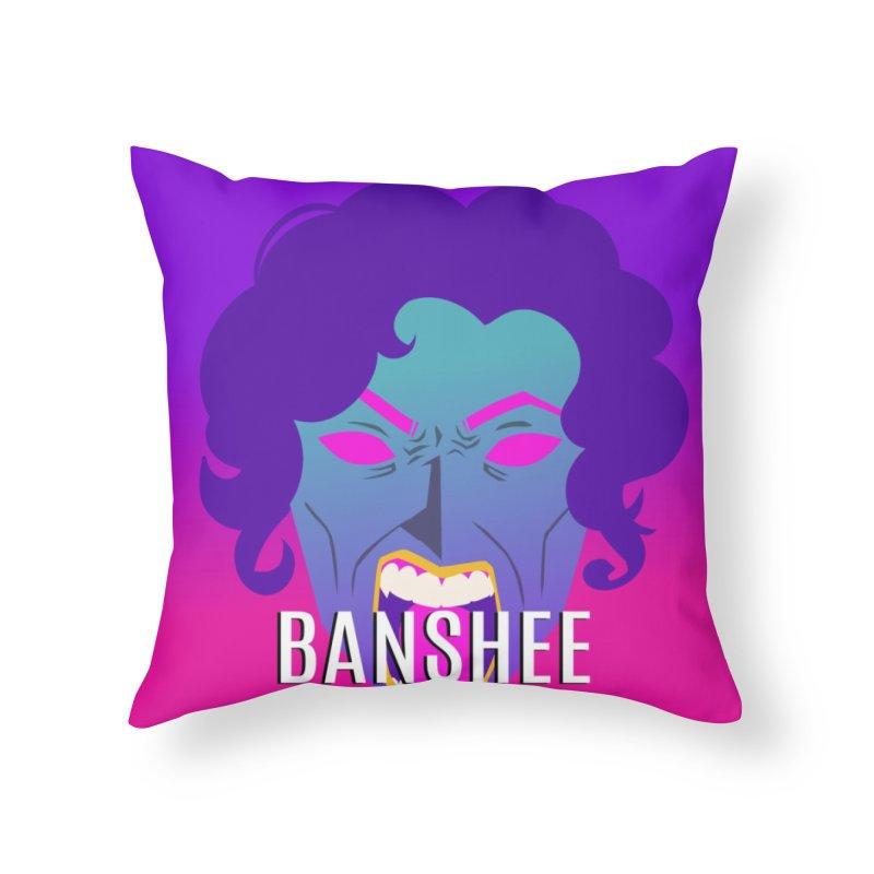 Banshee Home Throw Pillow by ganymedesgirlscommunity's Artist Shop