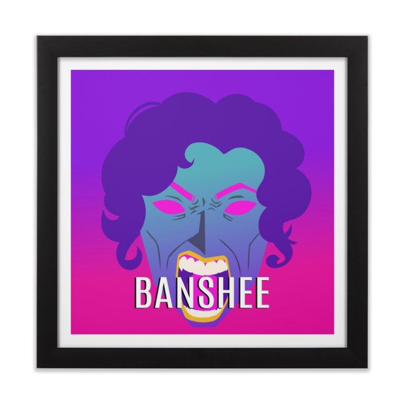Banshee Home Framed Fine Art Print by ganymedesgirlscommunity's Artist Shop