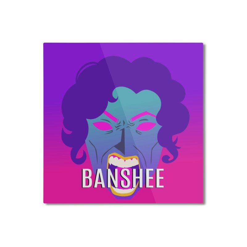 Banshee Home Mounted Aluminum Print by ganymedesgirlscommunity's Artist Shop