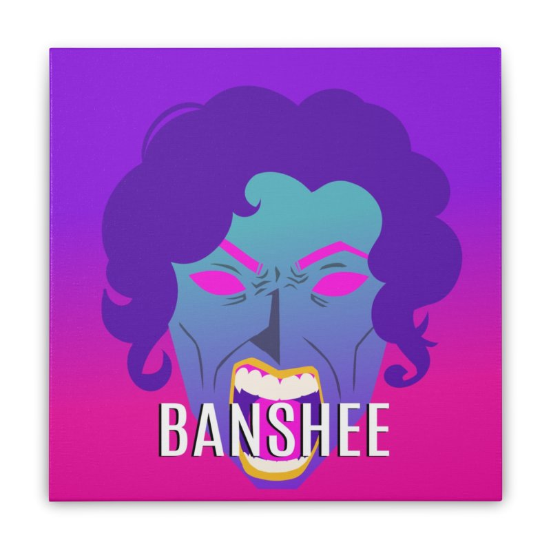 Banshee Home Stretched Canvas by ganymedesgirlscommunity's Artist Shop