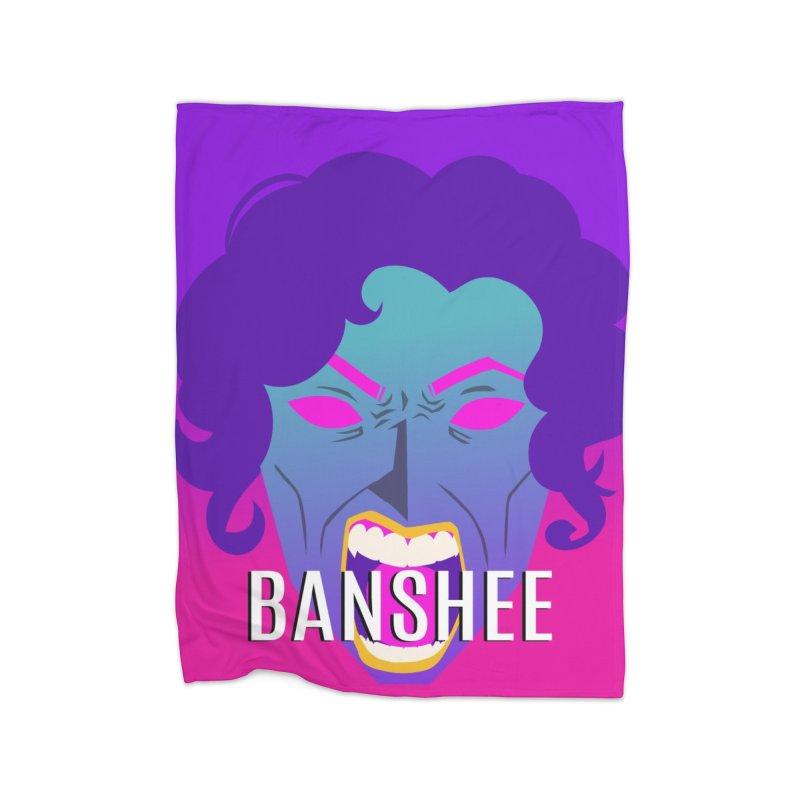 Banshee Home Fleece Blanket Blanket by ganymedesgirlscommunity's Artist Shop