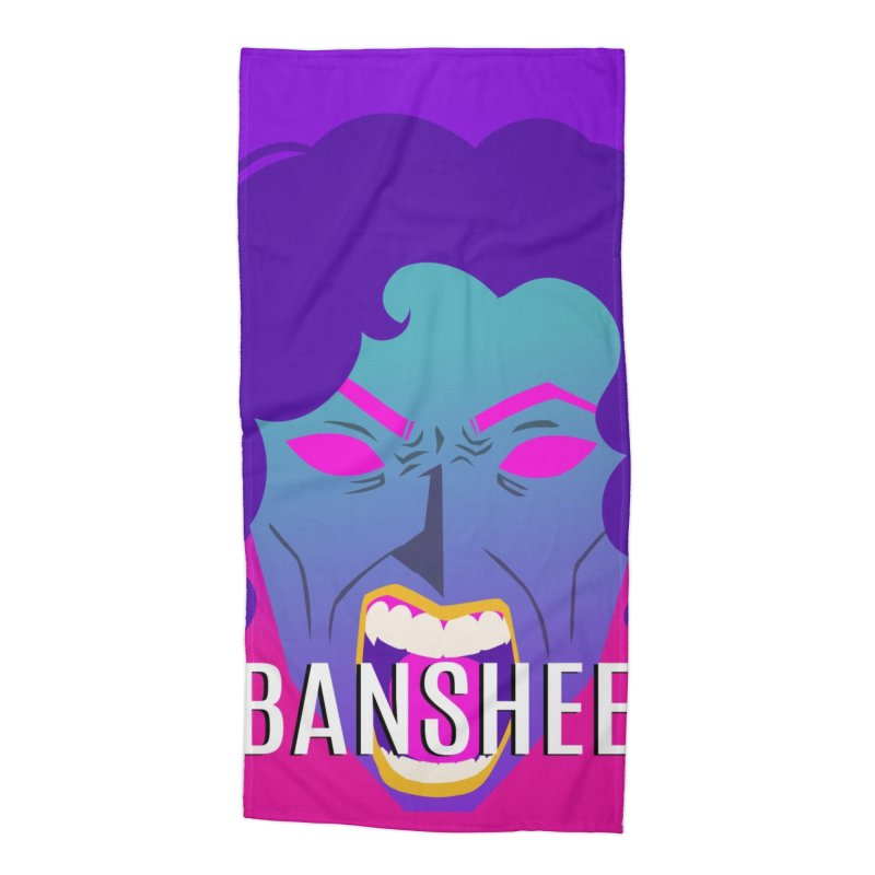 Banshee Accessories Beach Towel by ganymedesgirlscommunity's Artist Shop