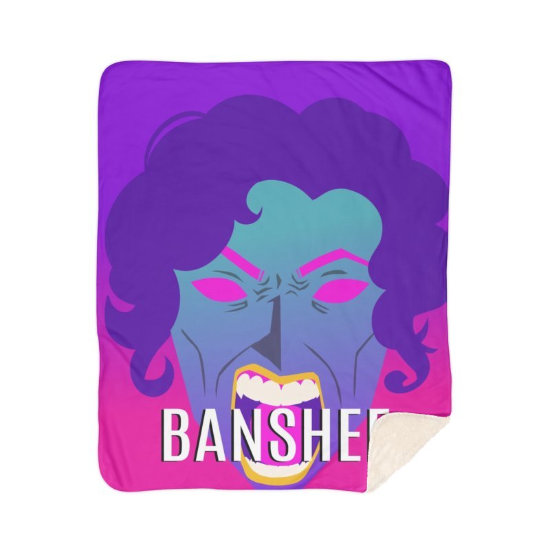 Banshee Home Sherpa Blanket Blanket by ganymedesgirlscommunity's Artist Shop