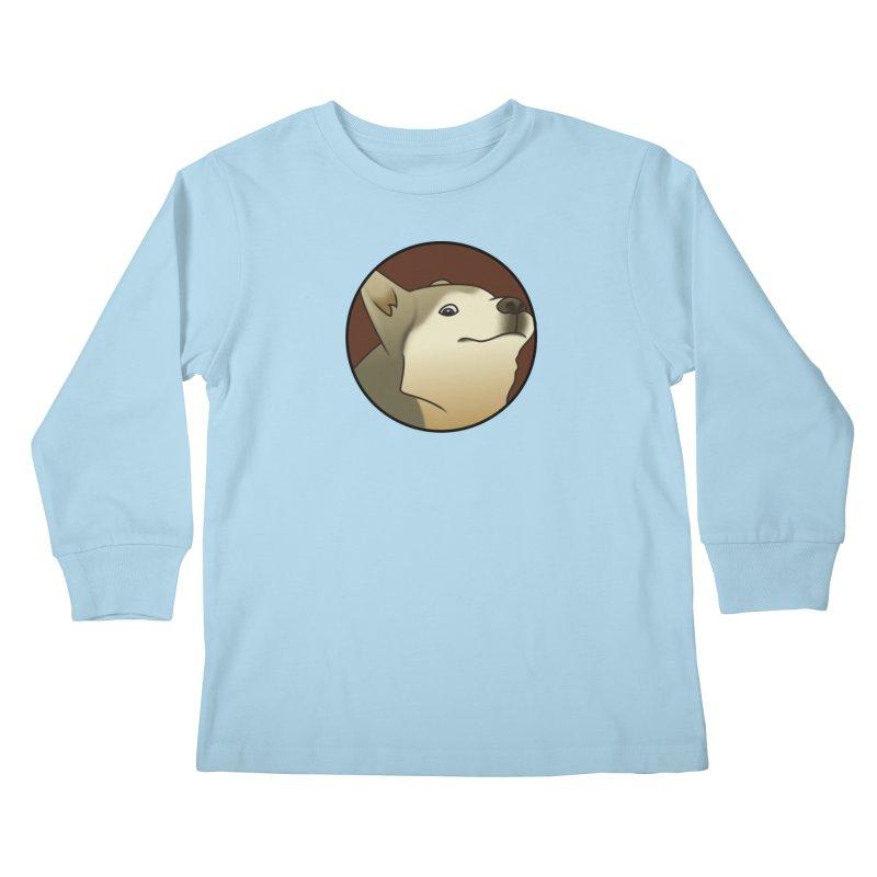 Bamboozlers Kids Longsleeve T-Shirt by ganymedesgirlscommunity's Artist Shop