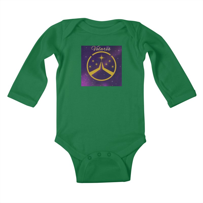 Team Velaris Kids Baby Longsleeve Bodysuit by ganymedesgirlscommunity's Artist Shop