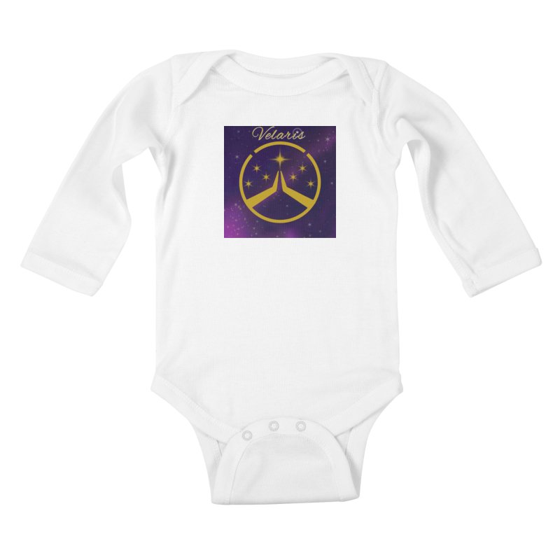 Team Velaris Kids Baby Longsleeve Bodysuit by ganymedesgirlscommunity's Artist Shop