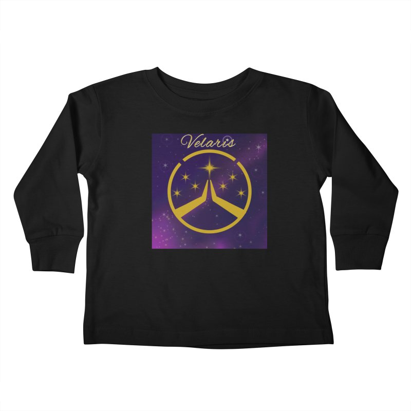 Team Velaris Kids Toddler Longsleeve T-Shirt by ganymedesgirlscommunity's Artist Shop