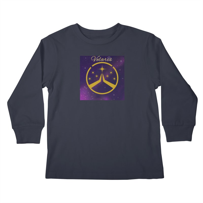 Team Velaris Kids Longsleeve T-Shirt by ganymedesgirlscommunity's Artist Shop
