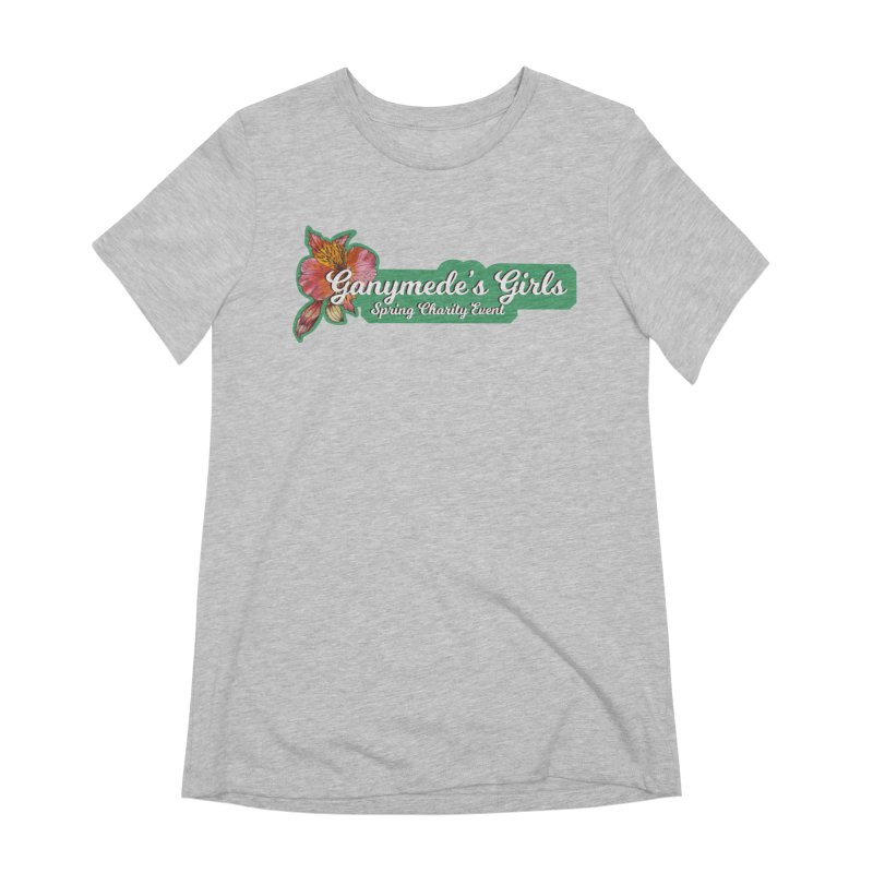 Spring Charity 2019 Women's Extra Soft T-Shirt by ganymedesgirlscommunity's Artist Shop