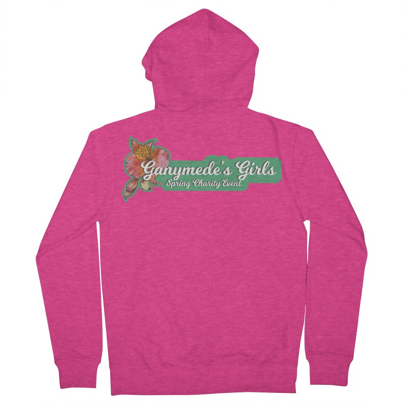 Spring Charity 2019 Women's French Terry Zip-Up Hoody by ganymedesgirlscommunity's Artist Shop