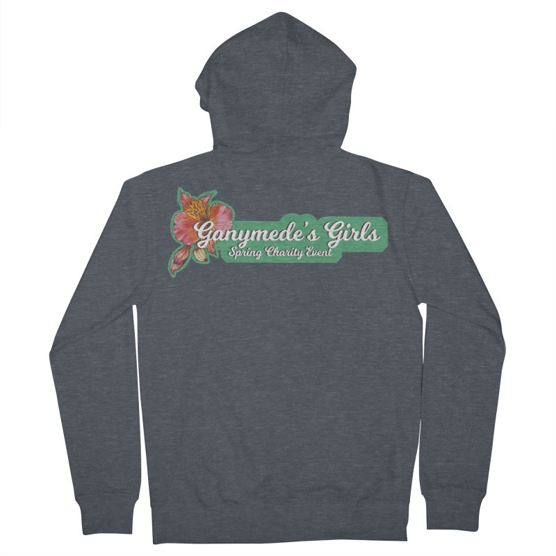 Spring Charity 2019 Men's French Terry Zip-Up Hoody by ganymedesgirlscommunity's Artist Shop