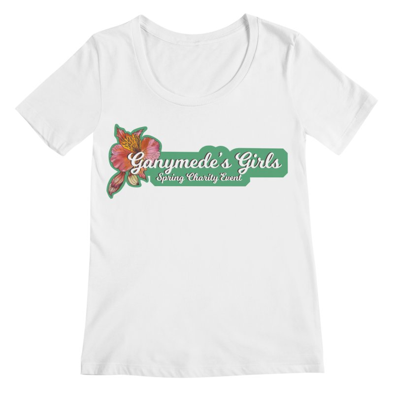 Spring Charity 2019 Women's Regular Scoop Neck by ganymedesgirlscommunity's Artist Shop