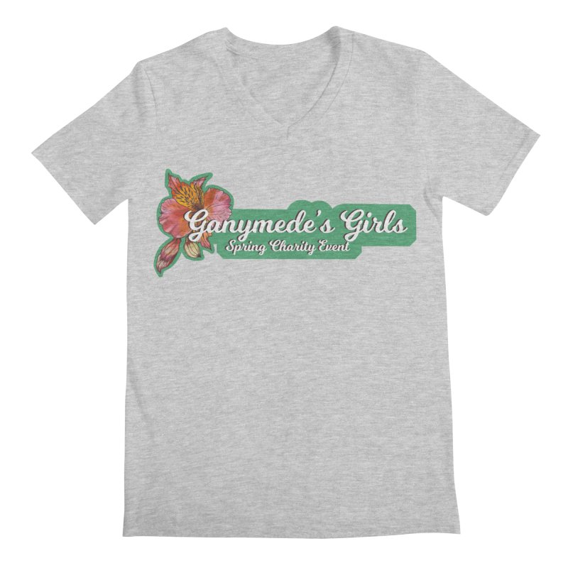 Spring Charity 2019 Men's Regular V-Neck by ganymedesgirlscommunity's Artist Shop