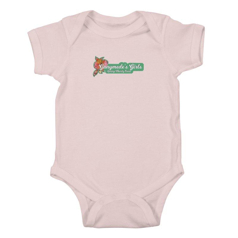 Spring Charity 2019 Kids Baby Bodysuit by ganymedesgirlscommunity's Artist Shop