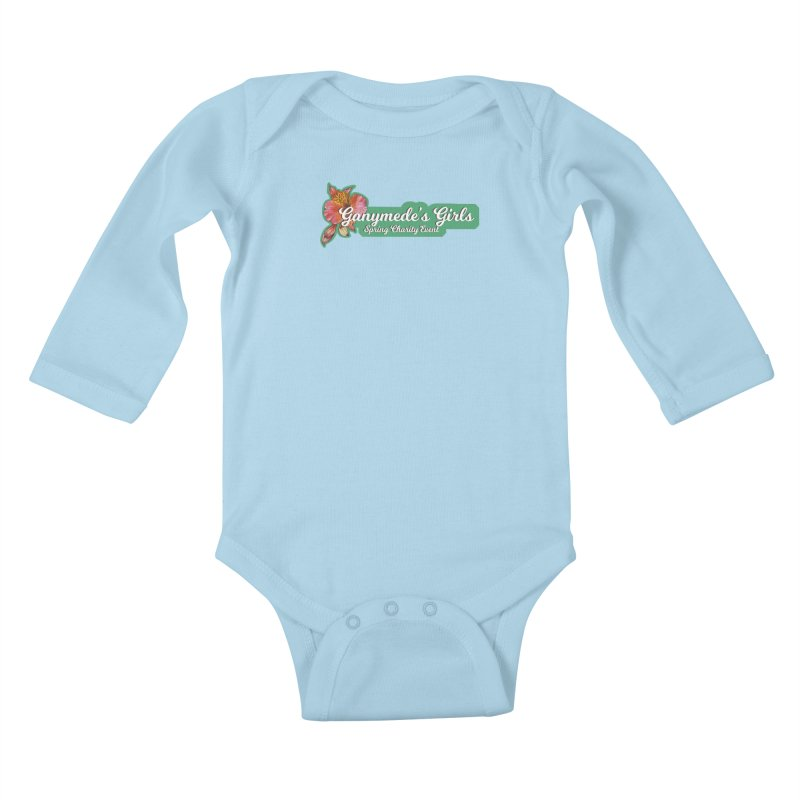 Spring Charity 2019 Kids Baby Longsleeve Bodysuit by ganymedesgirlscommunity's Artist Shop