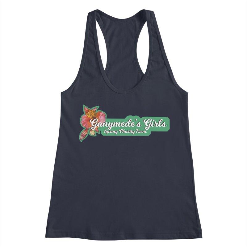 Spring Charity 2019 Women's Racerback Tank by ganymedesgirlscommunity's Artist Shop