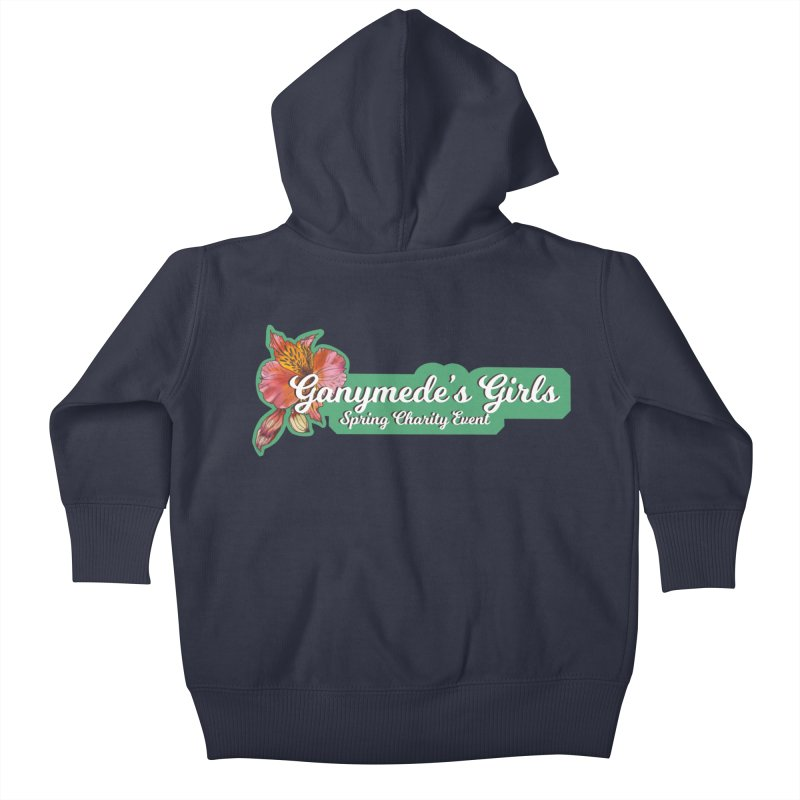 Spring Charity 2019 Kids Baby Zip-Up Hoody by ganymedesgirlscommunity's Artist Shop