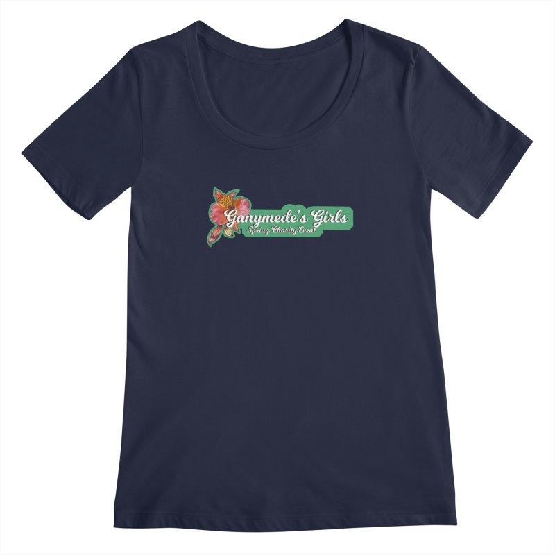 Spring Charity 2019 Women's Regular Scoop Neck by ganymedesgirlscommunity's Artist Shop