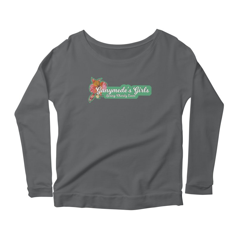Spring Charity 2019 Women's Scoop Neck Longsleeve T-Shirt by ganymedesgirlscommunity's Artist Shop