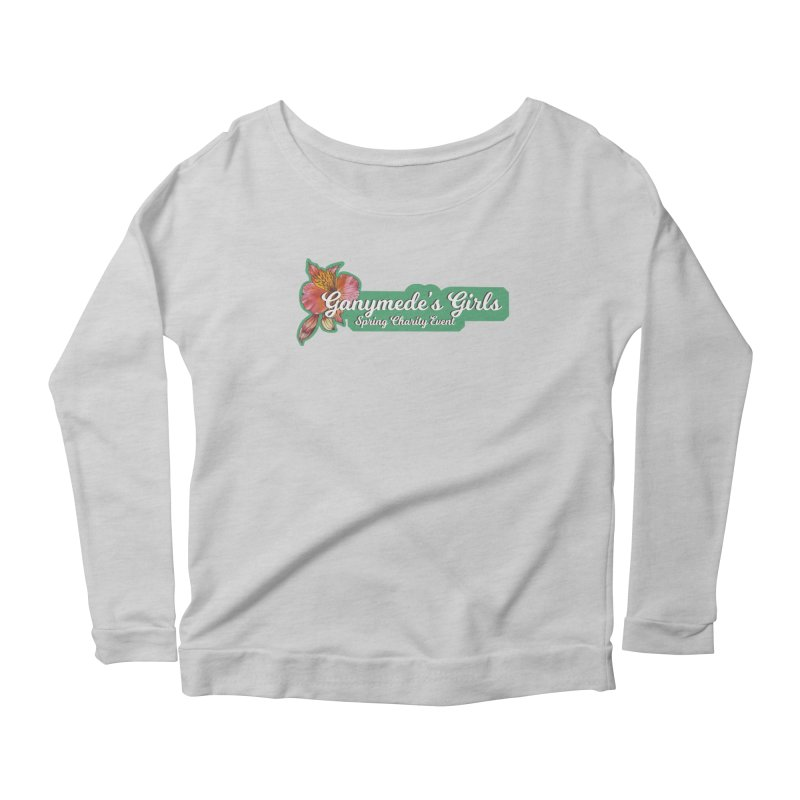 Spring Charity 2019 Women's Scoop Neck Longsleeve T-Shirt by ganymedesgirlscommunity's Artist Shop