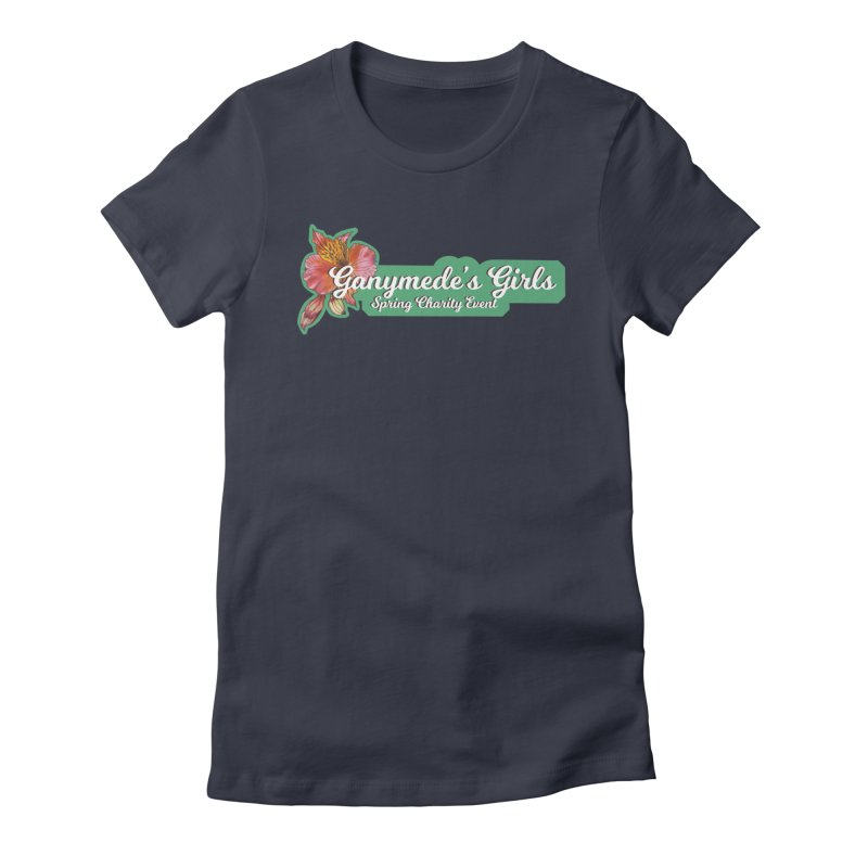 Spring Charity 2019 Women's Fitted T-Shirt by ganymedesgirlscommunity's Artist Shop