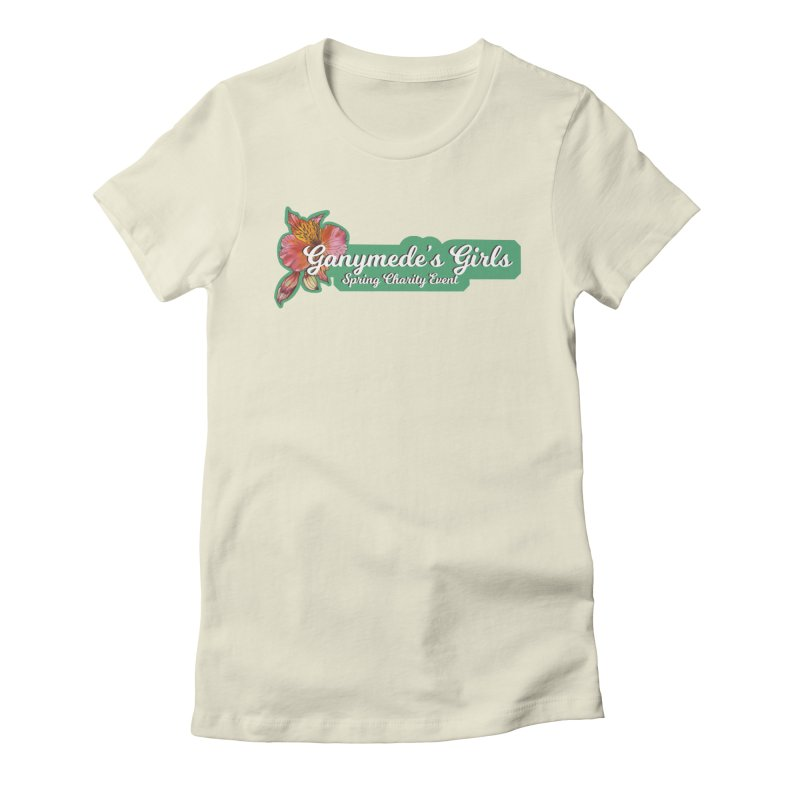 Spring Charity 2019 Women's Fitted T-Shirt by ganymedesgirlscommunity's Artist Shop