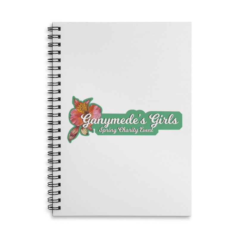 Spring Charity 2019 Accessories Lined Spiral Notebook by ganymedesgirlscommunity's Artist Shop